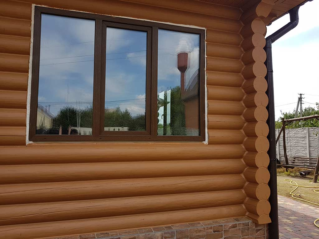 Wooden Evolution: Реставрация и утепление фасада дома (Мархаловка) - фото 16