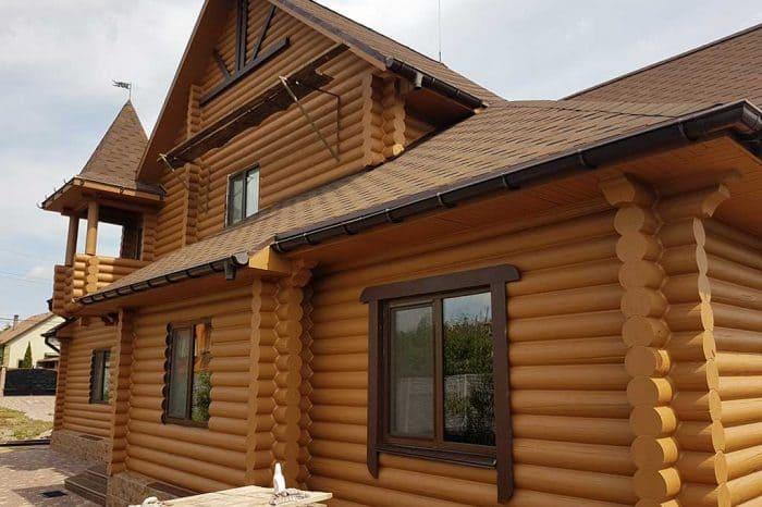 Wooden Evolution: Реставрация и утепление фасада дома (Мархаловка) - фото 17