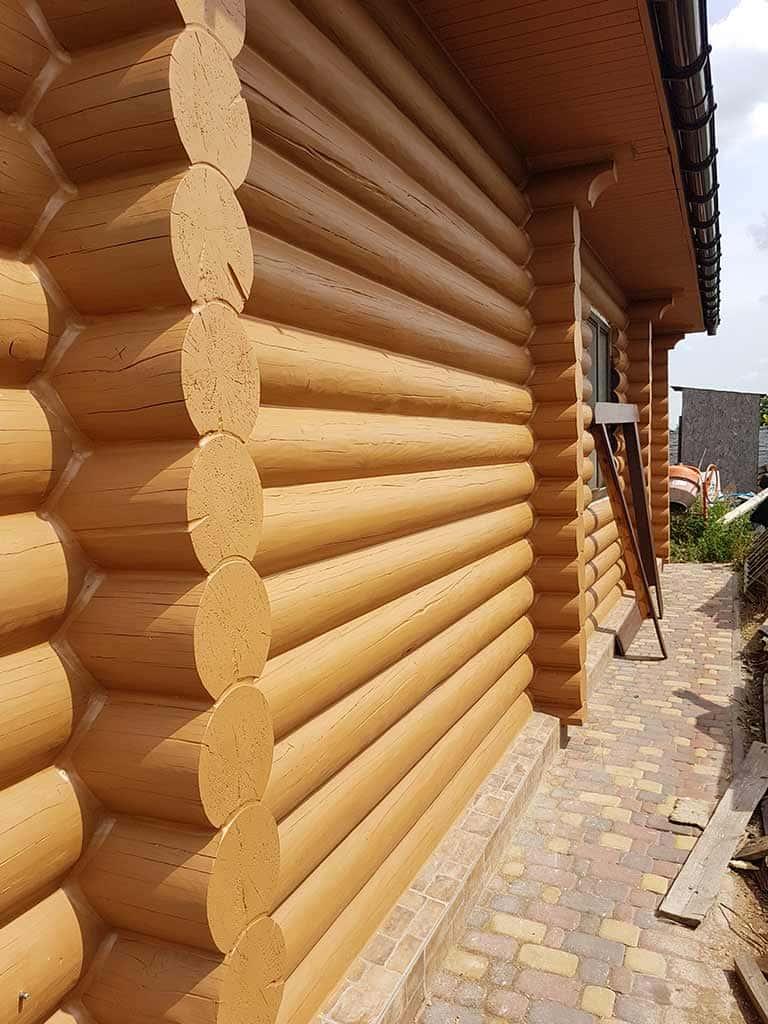Wooden Evolution: Реставрация и утепление фасада дома (Мархаловка) - фото 18