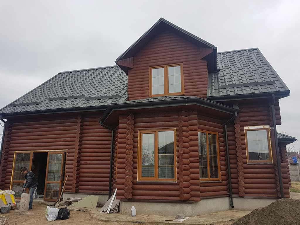 Wooden Evolution: Реставрация фасада дома (садовое общество «Ландыш») - фото 2