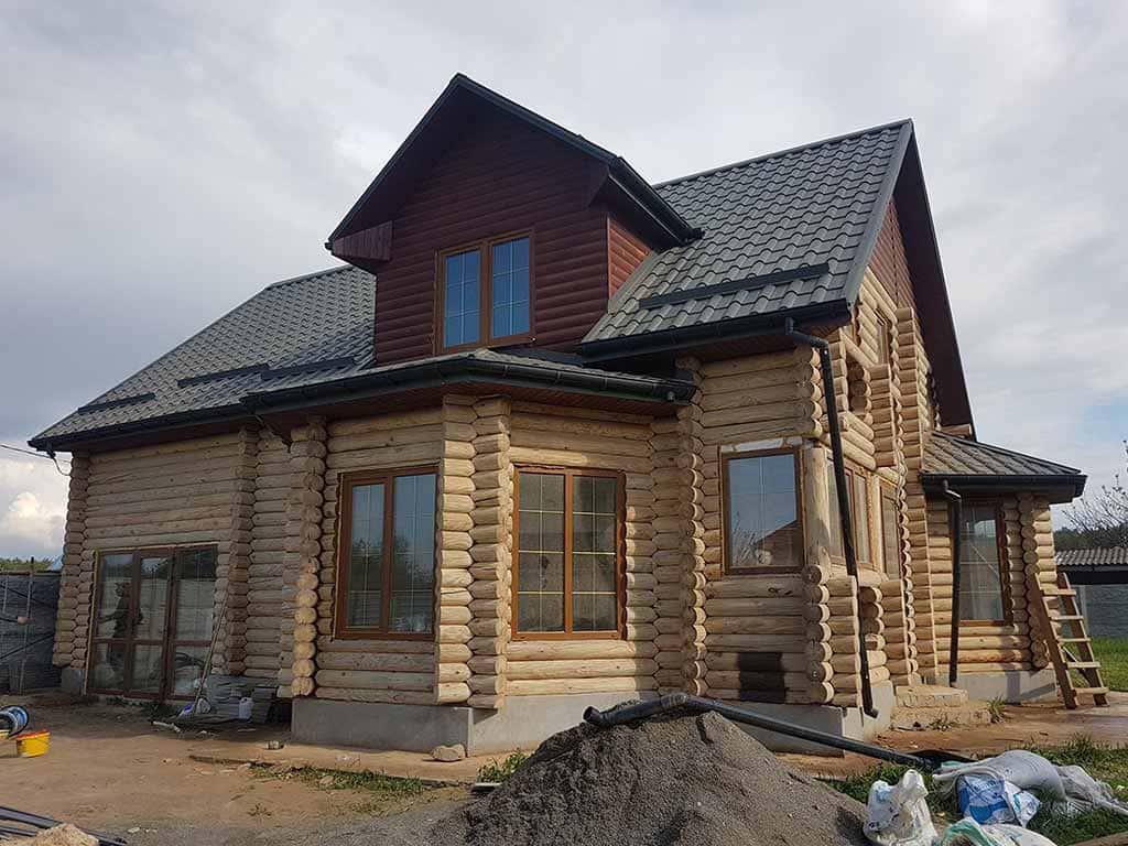 Wooden Evolution: Реставрация фасада дома (садовое общество «Ландыш») - фото 3