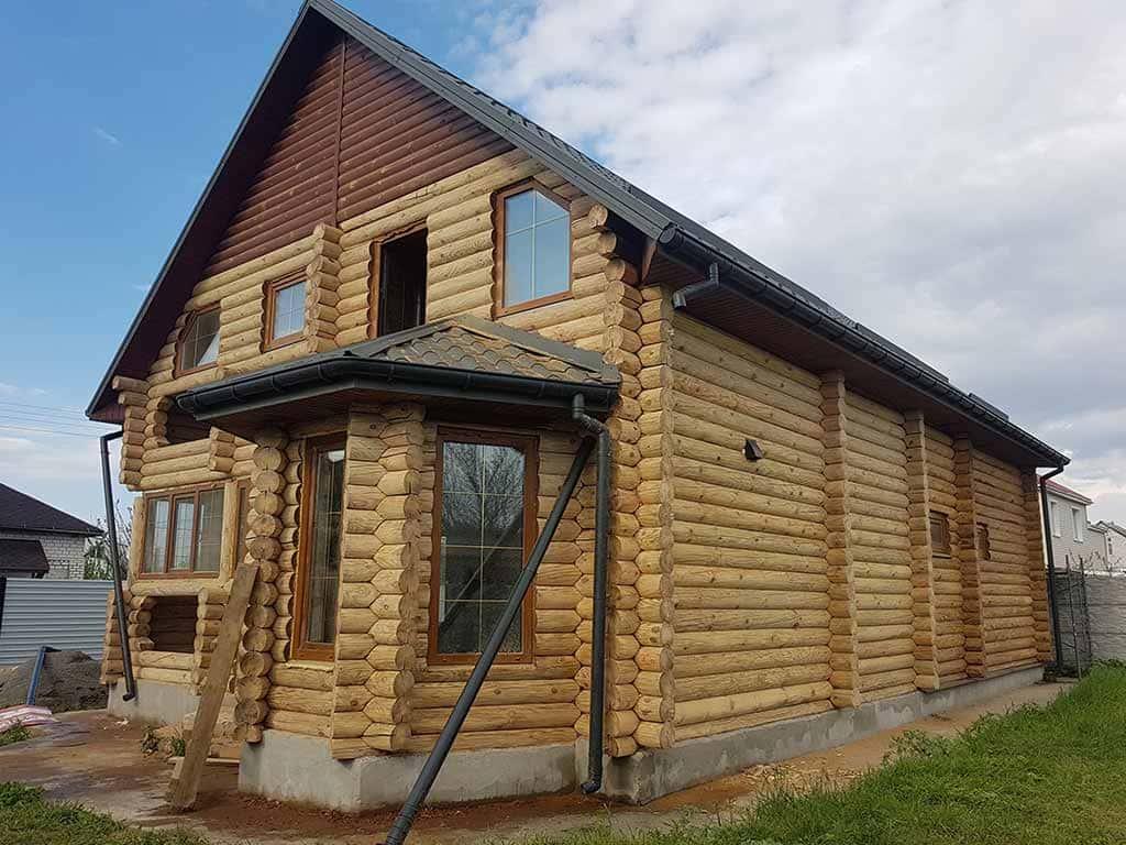 Wooden Evolution: Реставрация фасада дома (садовое общество «Ландыш») - фото 4