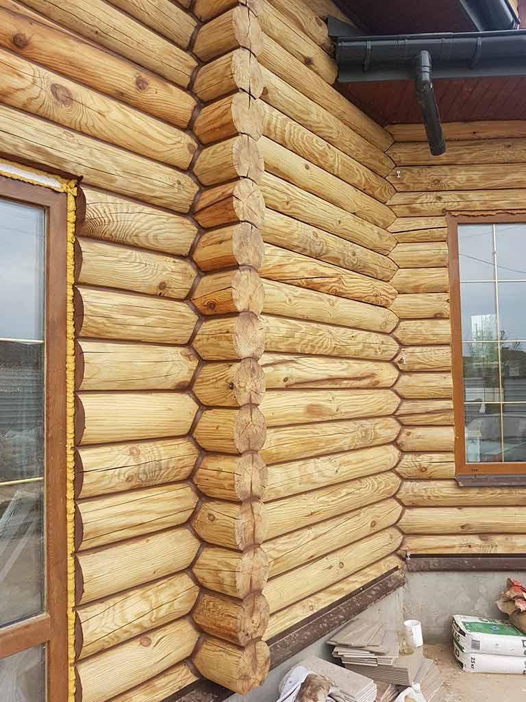 Wooden Evolution: Реставрация фасада дома (садовое общество «Ландыш») - фото 6