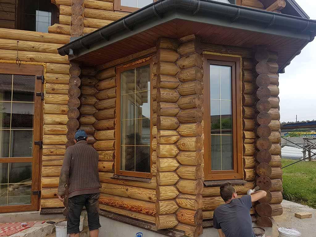 Wooden Evolution: Реставрация фасада дома (садовое общество «Ландыш») - фото 7