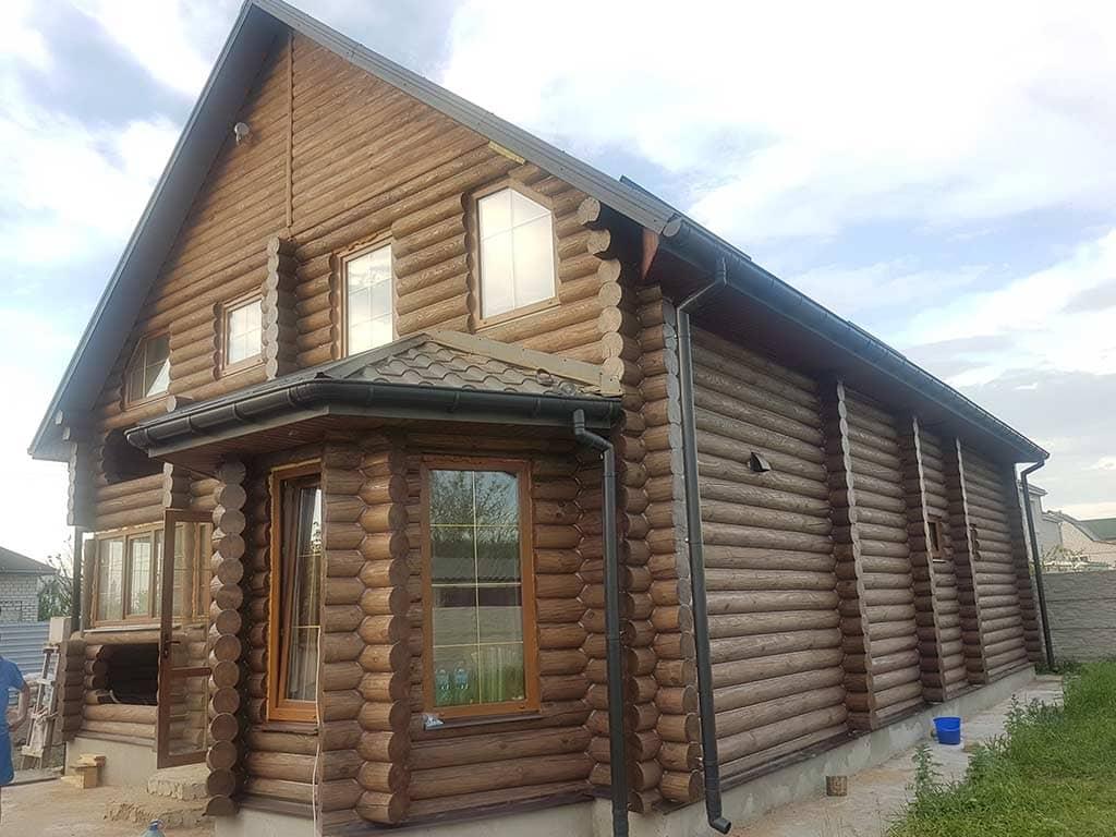 Wooden Evolution: Реставрация фасада дома (садовое общество «Ландыш») - фото 10