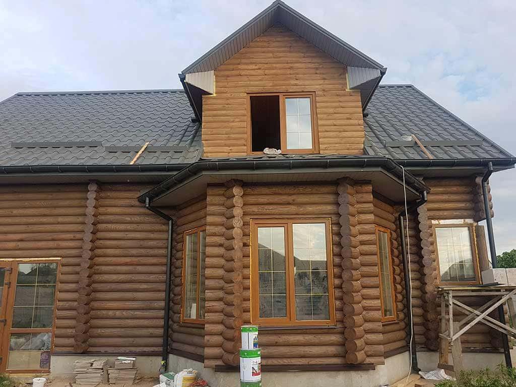 Wooden Evolution: Реставрация фасада дома (садовое общество «Ландыш») - фото 11
