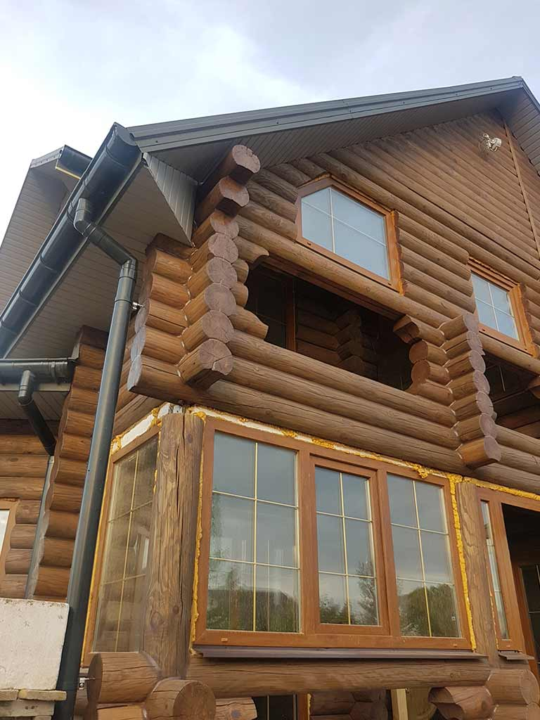 Wooden Evolution: Реставрация фасада дома (садовое общество «Ландыш») - фото 12