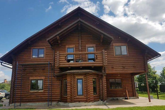 Wooden Evolution: Реставрация фасада дома (Зеленый Бор) - фото 5