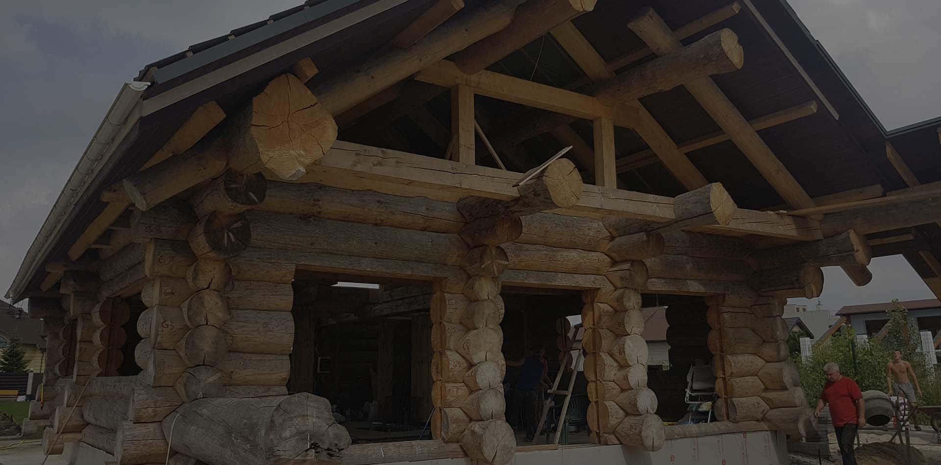 Wooden Evolution: Реставрация дома из сруба (Киевская область)