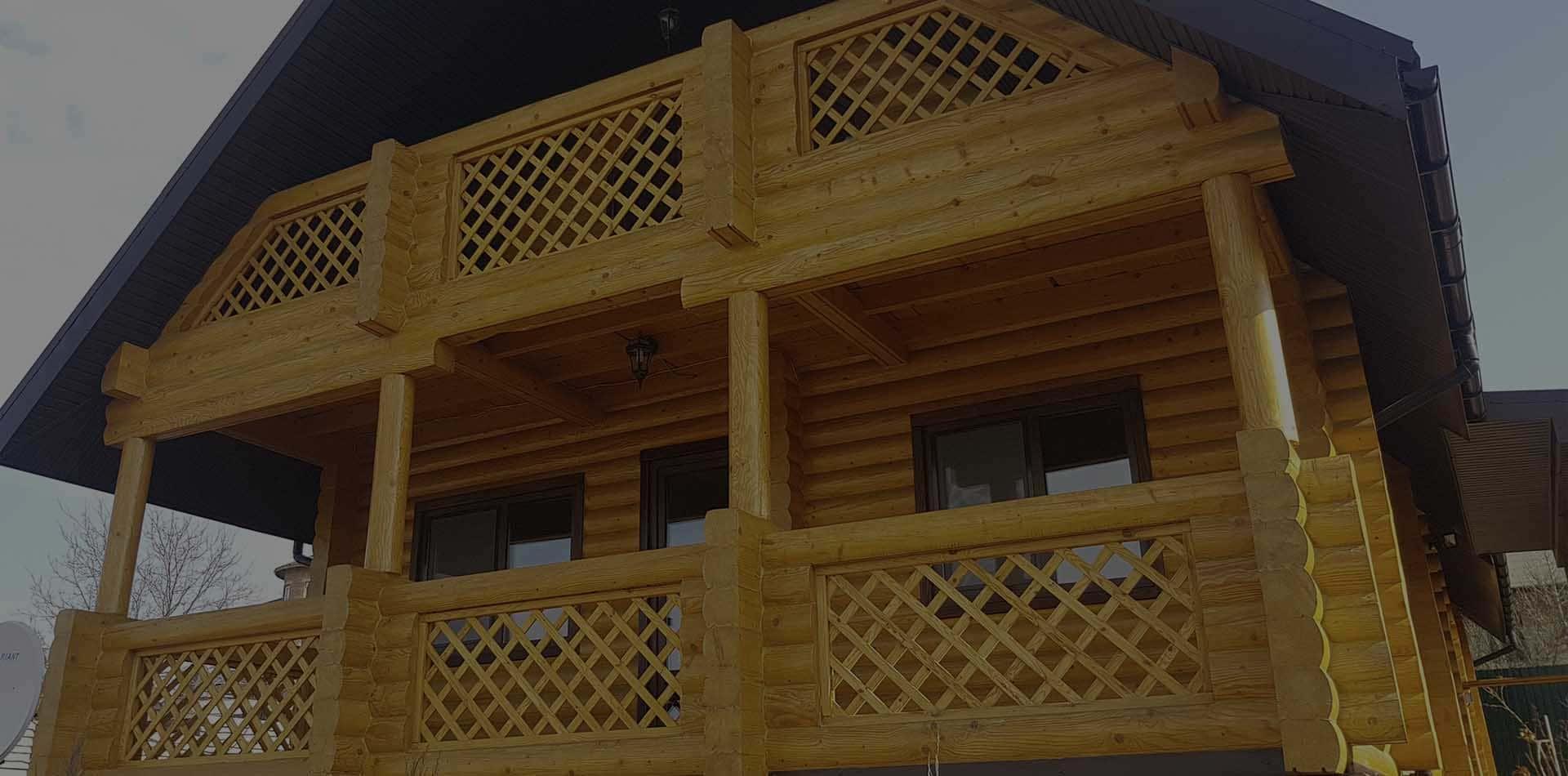 Wooden Evolution: Реставрация дома из бруса (Киевская область)