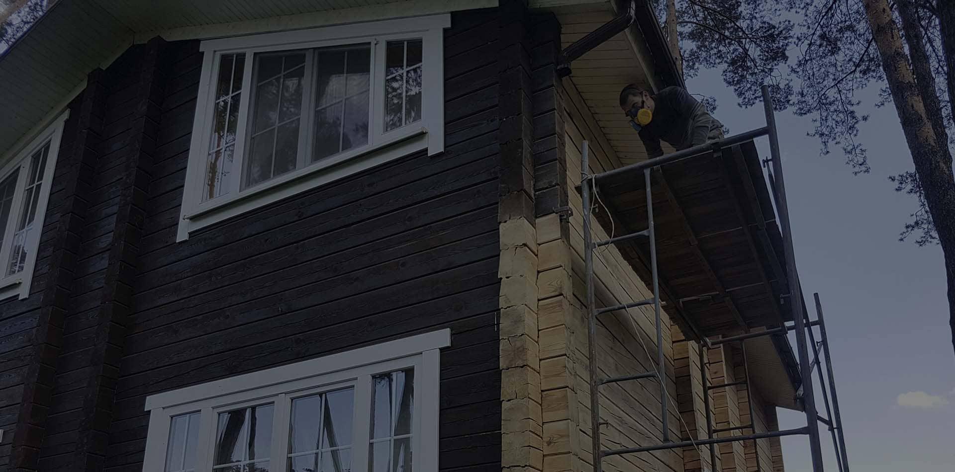 Wooden Evolution: Реконструкция деревянного дома (Киев)