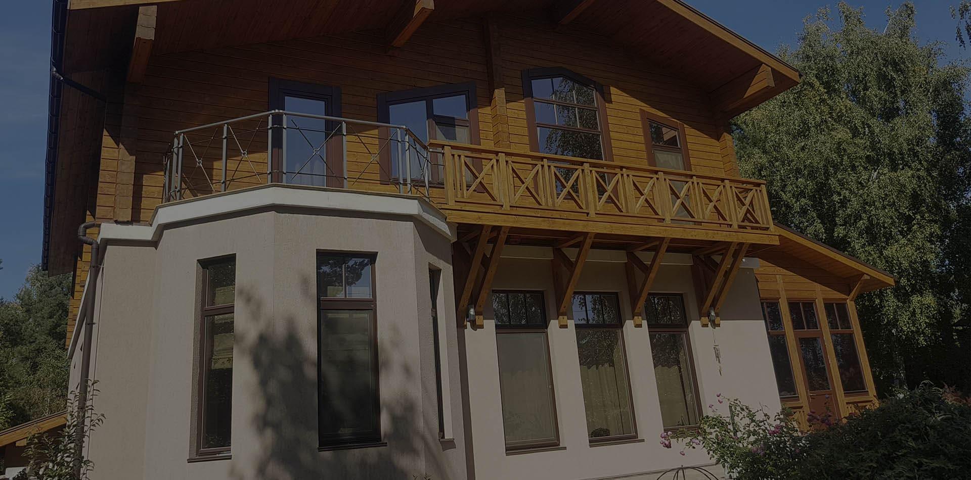 Wooden Evolution: Реконструкция домов из бруса (Киевская область)