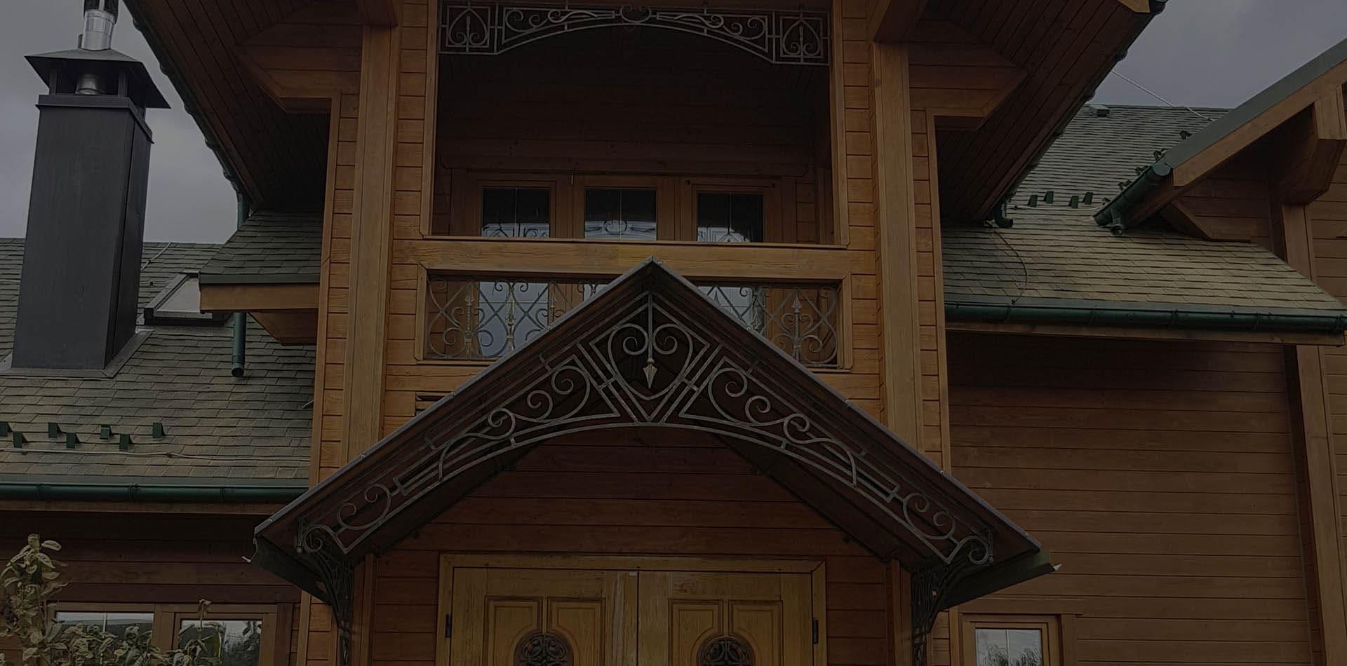 Wooden Evolution: Восстановление старых деревянных домов (Киевская область)
