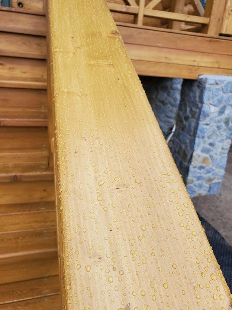 Лебедевка: реставрация фасада и террас, изготовление и монтаж наличников (фото 29)