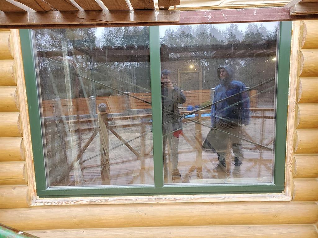 Лебедевка: реставрация фасада и террас, изготовление и монтаж наличников (фото 4)