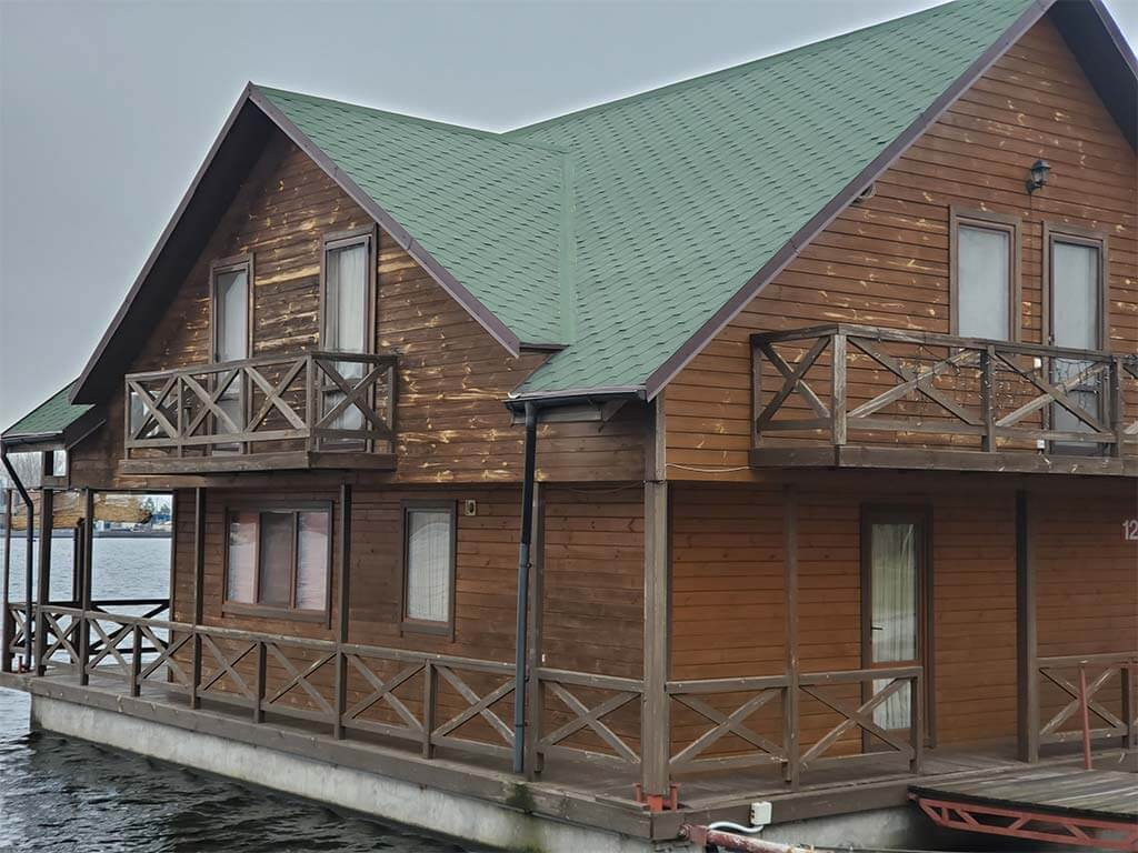 Золоче: реставрация дома на воде (фото 3)