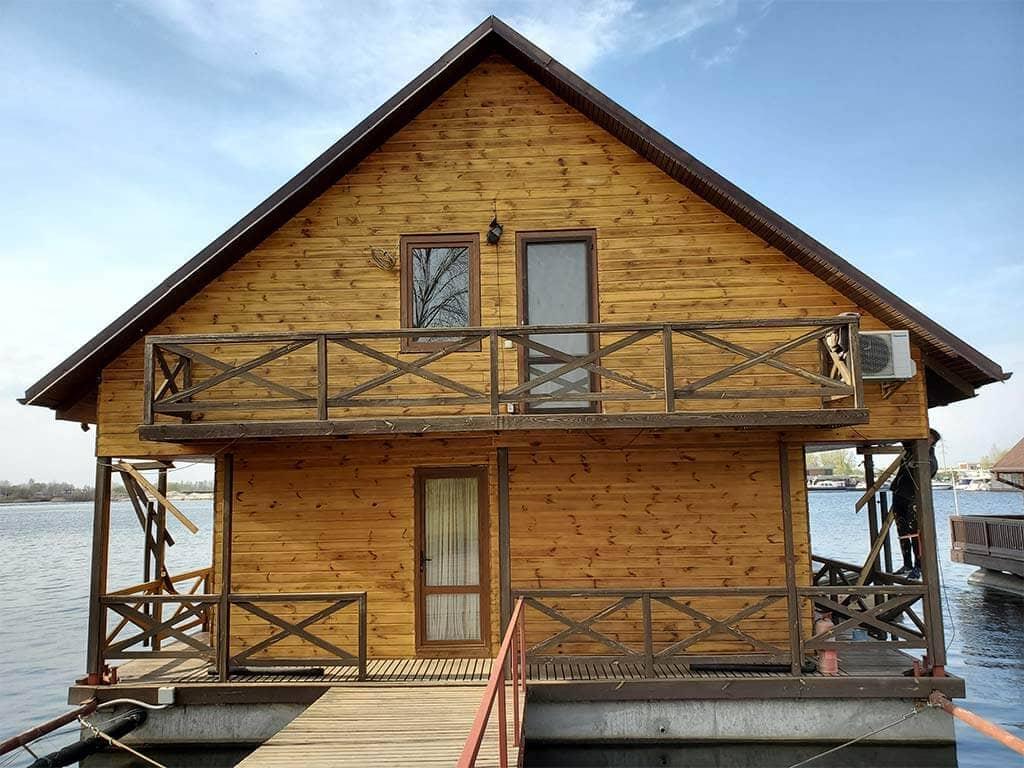 Золоче: реставрация дома на воде (фото 7)
