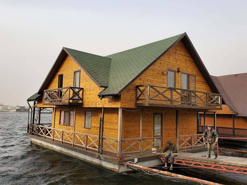 Золоче: реставрация дома на воде (фото 9)