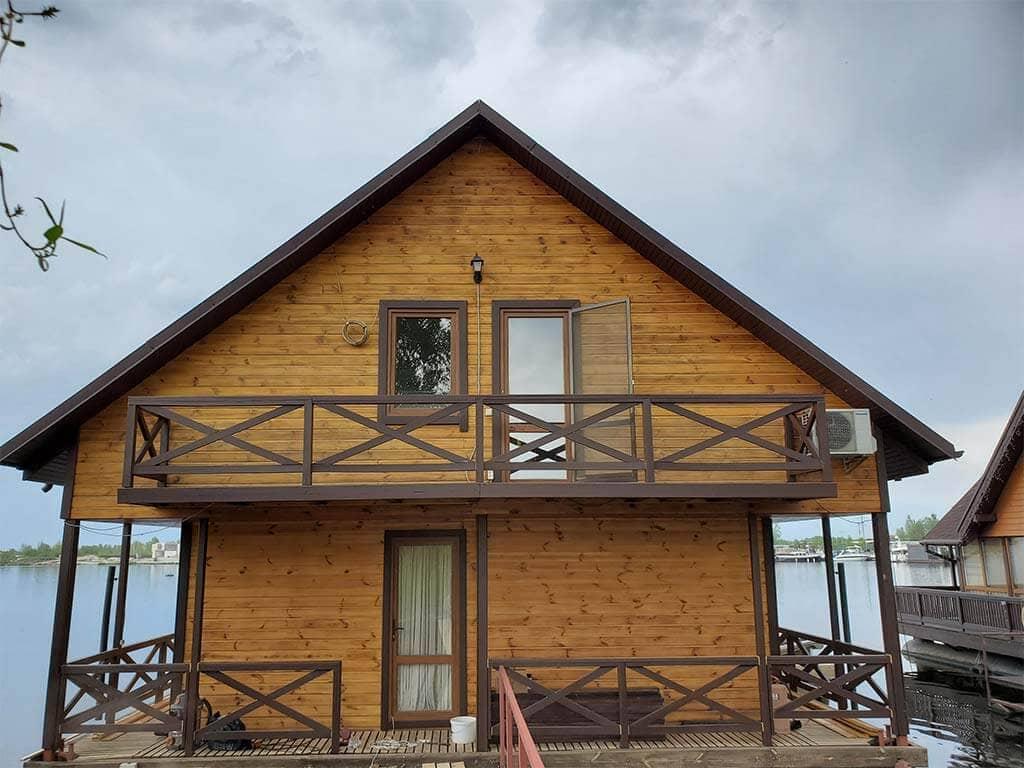 Золоче: реставрация дома на воде (фото 11)