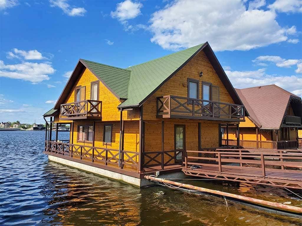 Золоче: реставрация дома на воде (фото 14)