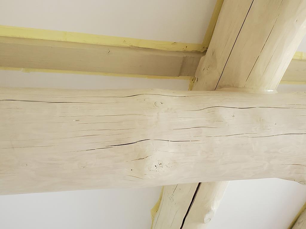 Осокорки: внутренняя отделка дикого сруба (фото 6)