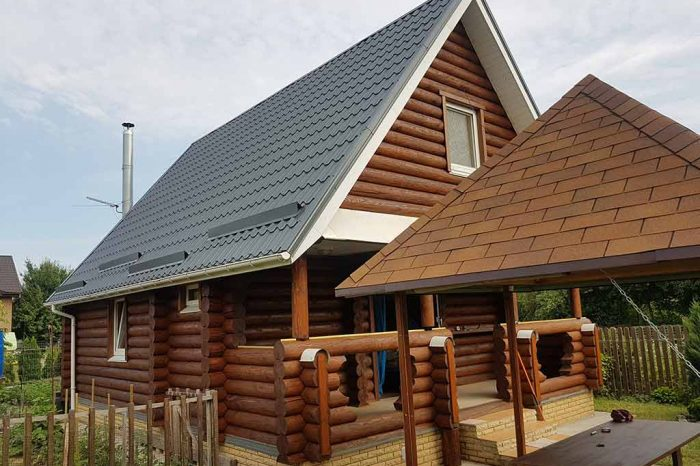 Wooden Evolution: Реставрация фасада дачного дома (Бровары) - фото 10