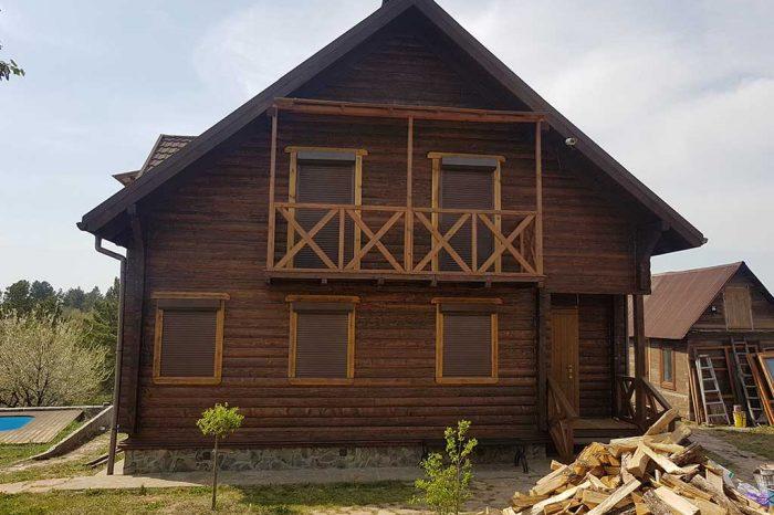 Wooden Evolution: Реставрация дома (с. Большая Бугаевка) - фото 10